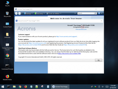 HBCD PE - Acronis About