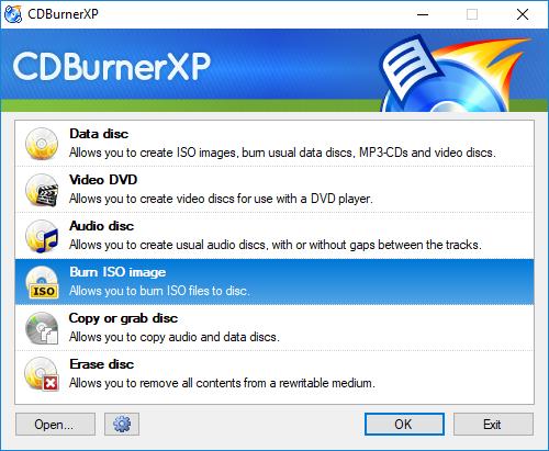 HBCD PE CDBurnerXP 1